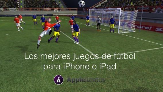 Los mejores juegos de futbol para iPhone o iPad