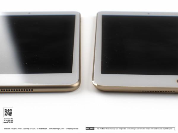 El primer concepto del iPad Mini Retina de 2ª Generación