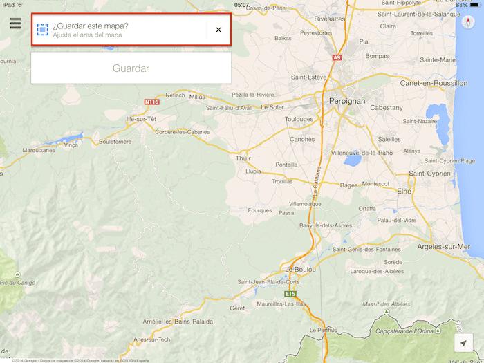 Cmo guardar y usar mapas offline de google maps en tu iphone o ipad cmo guardar y usar mapas offline de google maps en tu iphone o ipad gumiabroncs Image collections