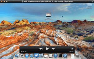 Cómo reproducir vídeos automáticamente en QuickTime