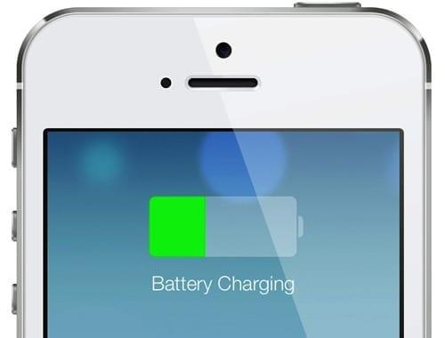 iPhone 5 cargando