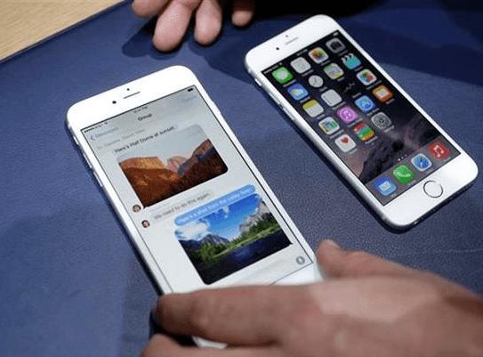 Comparando antes de elegir modelo de iPhone 6