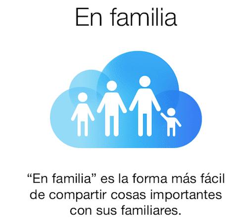 Configura Compartir en Familia de iOS 8 fácilmente