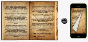 El Destino de Ambar librojuego en iPhone