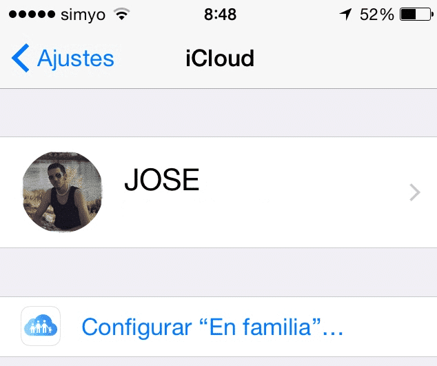 En Familia iOS 8