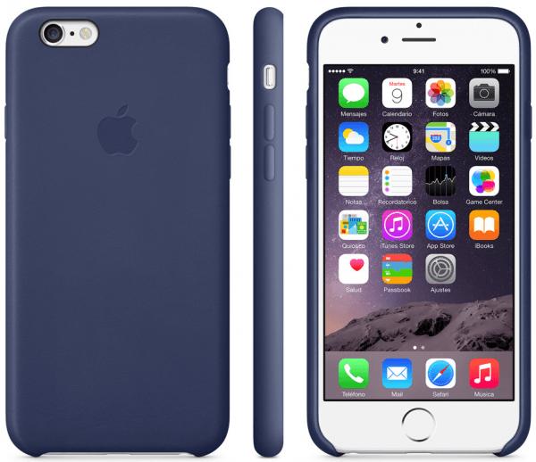 Funda de piel iPhone 6 001 600x518 Las nuevas fundas de Apple para tu iPhone 6