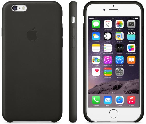 Funda de piel iPhone 6 002 600x511 Las nuevas fundas de Apple para tu iPhone 6