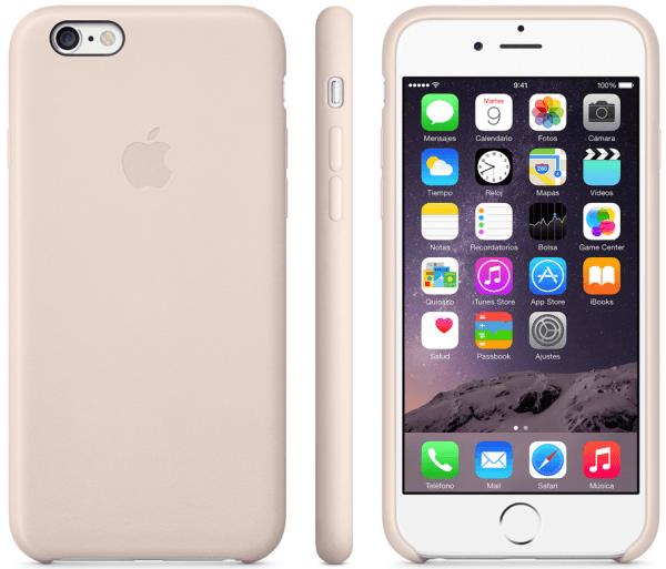 Funda de piel iPhone 6 003 600x513 Las nuevas fundas de Apple para tu iPhone 6