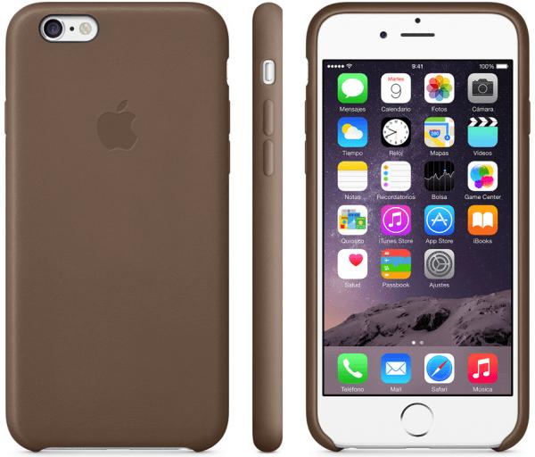 Funda de piel iPhone 6 004 600x512 Las nuevas fundas de Apple para tu iPhone 6