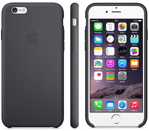 Funda silicona iPhone 6 001 Las nuevas fundas de Apple para tu iPhone 6