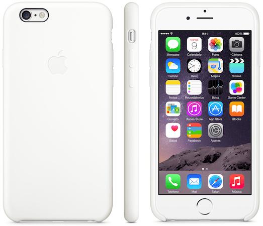 Funda silicona iPhone 6 002 Las nuevas fundas de Apple para tu iPhone 6