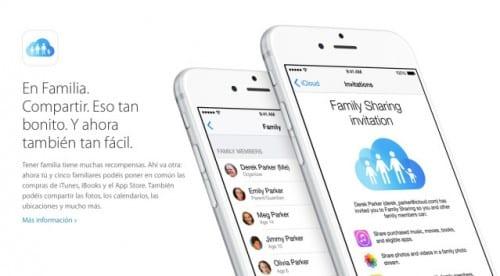 iOS 8 en familia