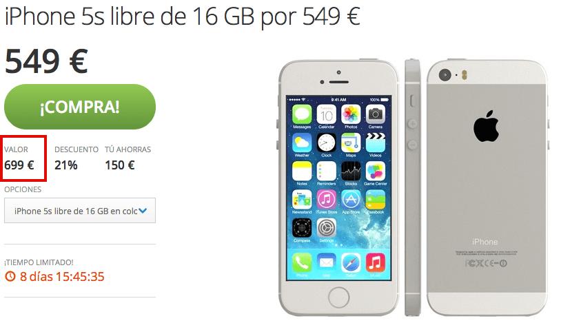 Iphone se los kopen reversible groupon