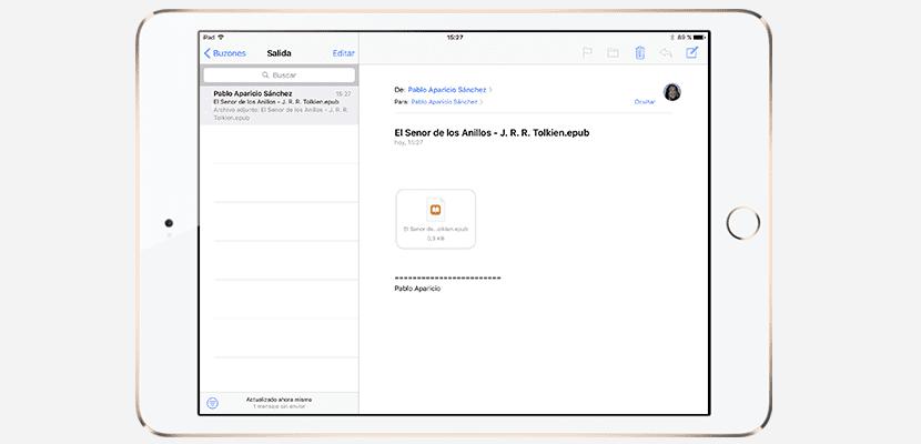 cómo abrir ebooks desde el correo