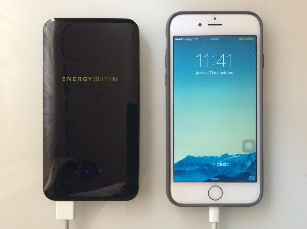 Energy Extra Battery 5000, ideal para acompañar tu iPhone