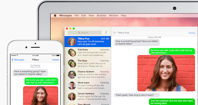 Responde mensajes desde tu Mac