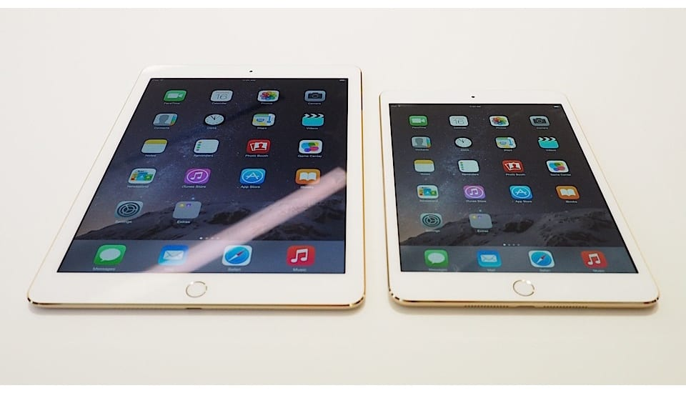 iPad Air 2 y iPad Mini 3, primeros análisis