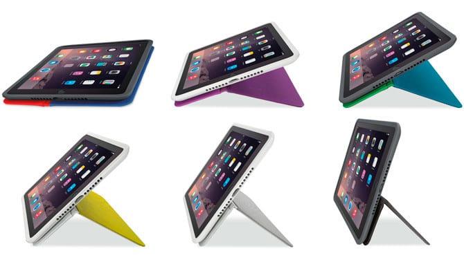 AnyAngle de Logitech, la funda para ver tu iPad desde cualquier ángulo