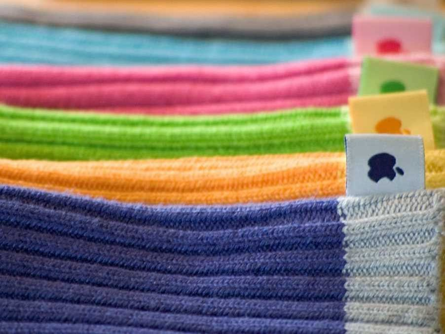 Calcetines para el iPod