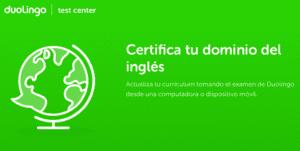 Duolingo ya permite la certificación de tu inglés