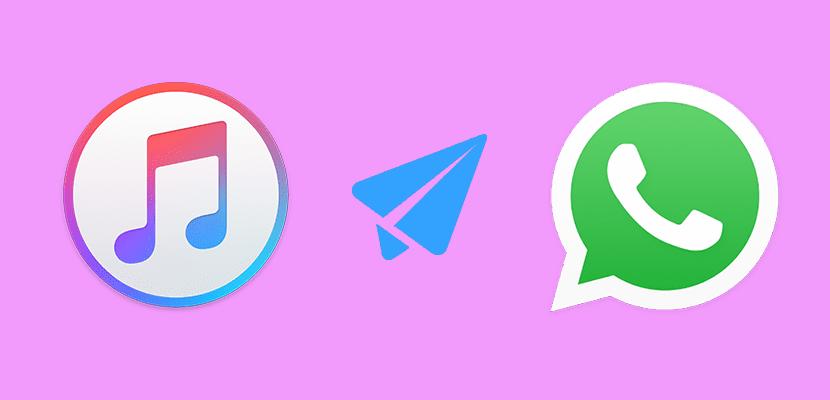 cómo enviar musica por whatsapp desde un iphone
