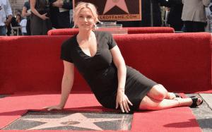 Kate Winslet en su Estrella de la Fama