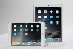 iPad Mini 3 y iPad Air 2