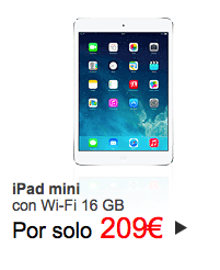 iPad Mini Cyber Monday El Corte Inglés