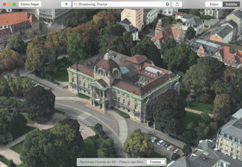 Palacio del Rhin strasbourg apple maps