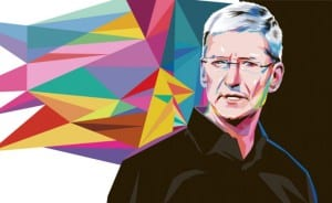Tim Cook Cuadro color