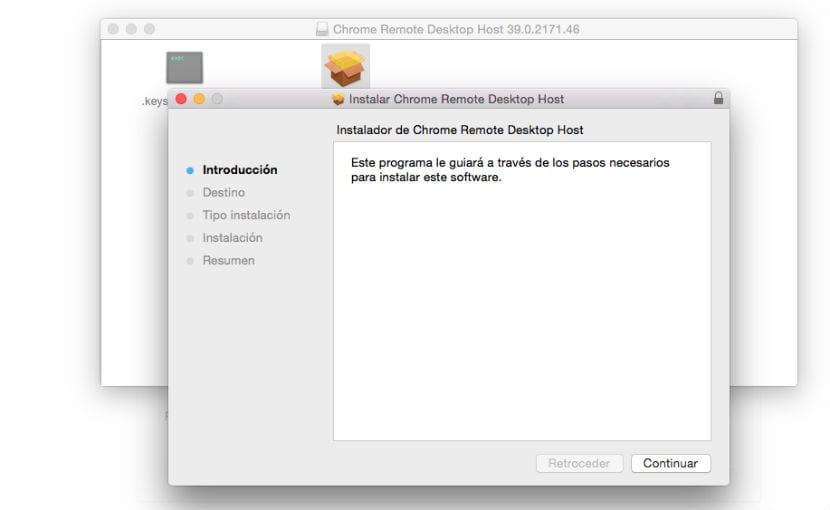 Chrome Remote Desktop pkg