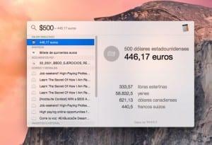 Conversor monedas Spotlight euro