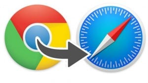 Exportar marcadores Chrome a Safari