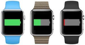 La batería del Apple Watch sólo duraría 2,5 horas a pleno rendimiento