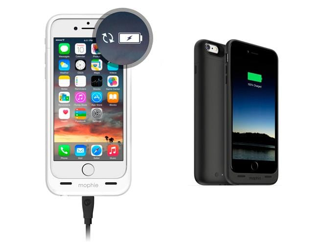 Mophie Juice Pack para iPhone 6 y iPhone 6 Plus #CES2014
