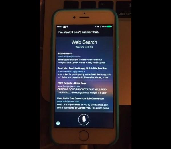 Sireader lee las noticias en Siri a invidentes, pero sólo con Jailbreak