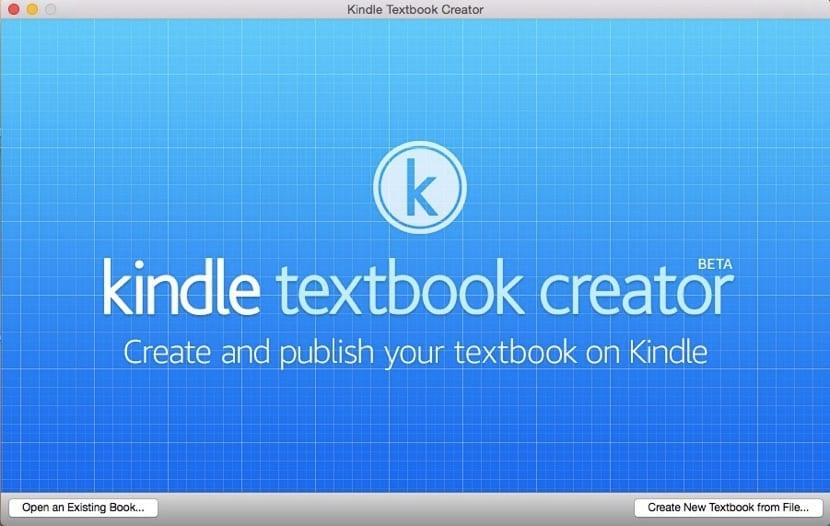 antalla-bienvenida-kindle-textbook-creator