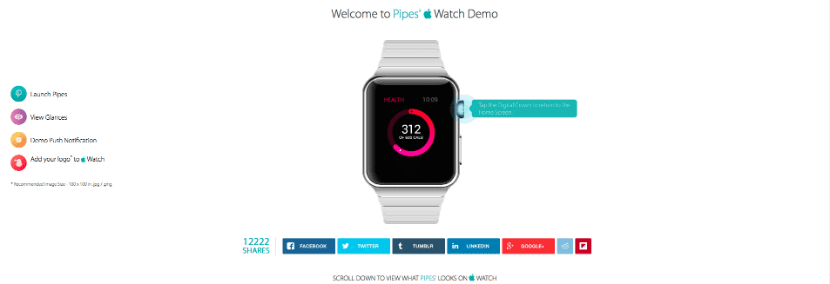 demo apple watch web pipes