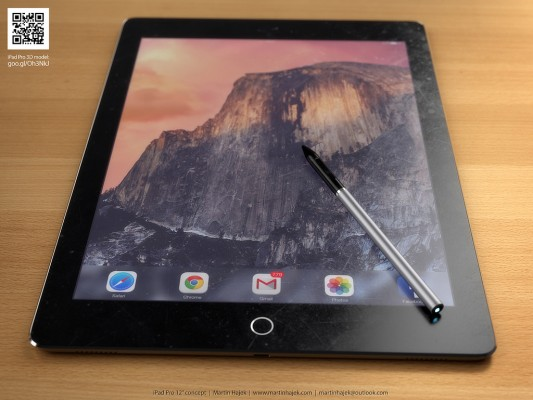 ¿Te gustaría un iPad Pro con Stylus como éste? 13
