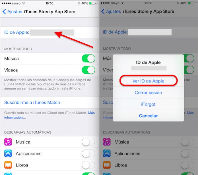 Cómo cambiar la tarjeta asociada con iTunes desde tu iPhone