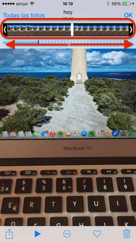 Cómo grabar vídeos Slow Motion en tu iPhone 6 y 6 Plus 3