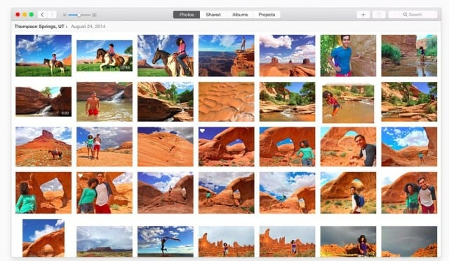 Nueva app Photos en Mac