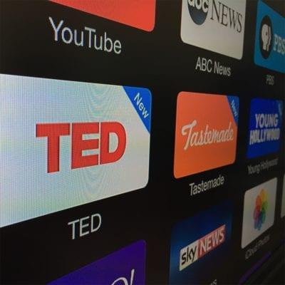 Apple TV recibe tres nuevos canales