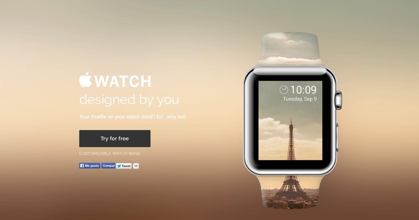 Personaliza tu Apple Watch con las correas de Casetify