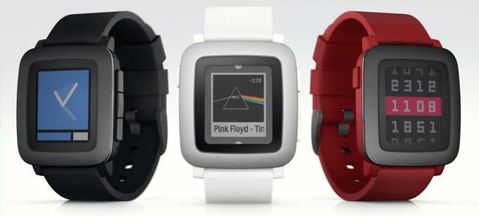 Pebble Time modelos