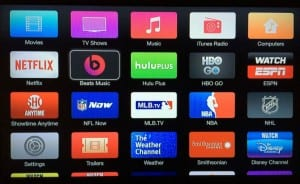 apple tv canales television