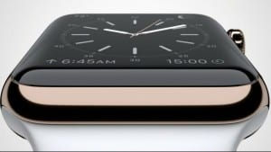 apple watch lateral