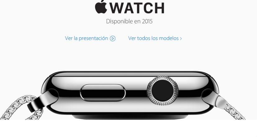 presentacion apple watch
