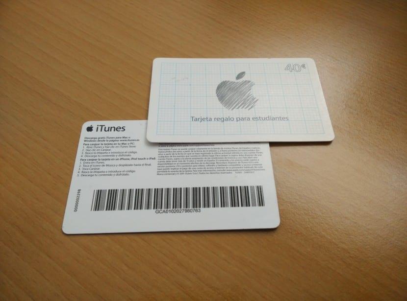 tarjeta regalo-apple