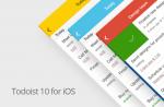 #todoist10 iOS